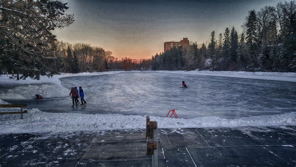 Cold Weather on Ice Training