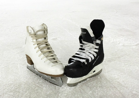 Hockey Skates or Figure Skates?