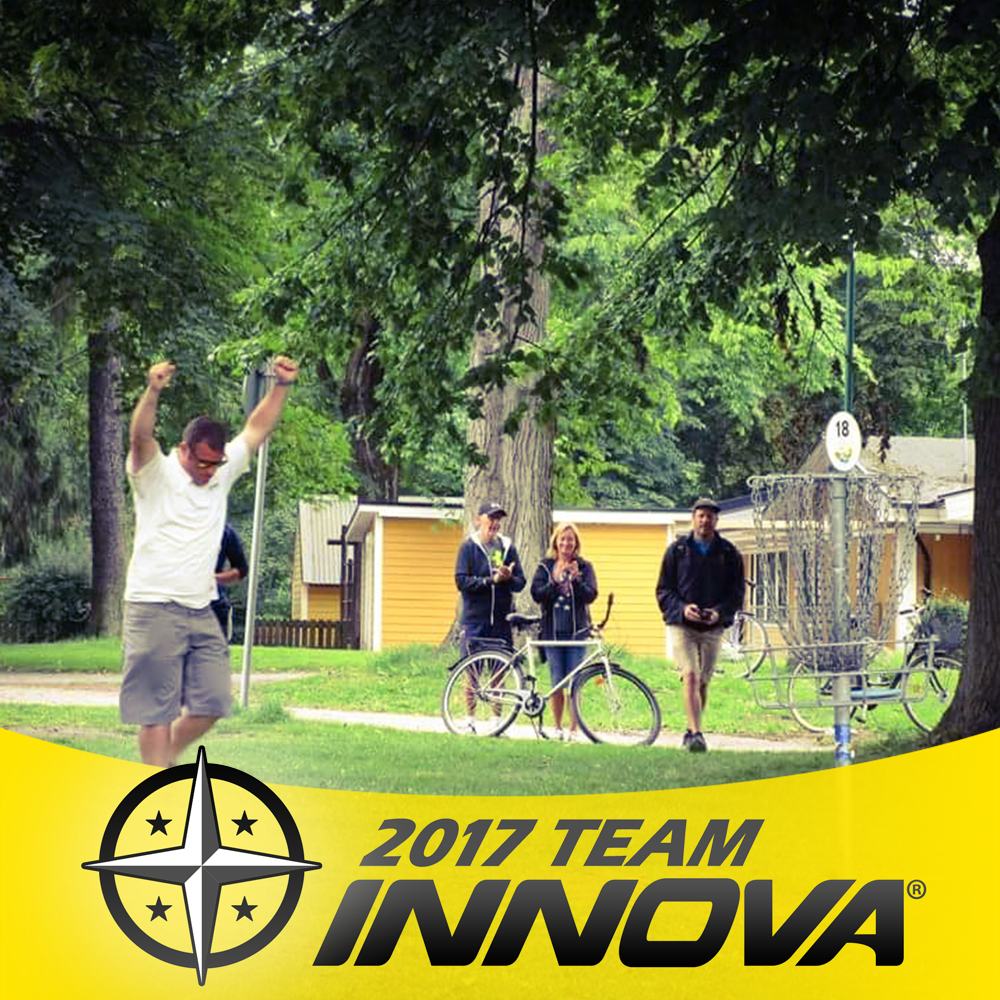 Frisbee Rob Joins Innova's Ambassador Team