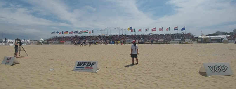 The World Championships of Beach Ultimate