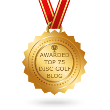 Frisbee Rob Named as One of the Top 75 Disc Golf Blogs on the Web