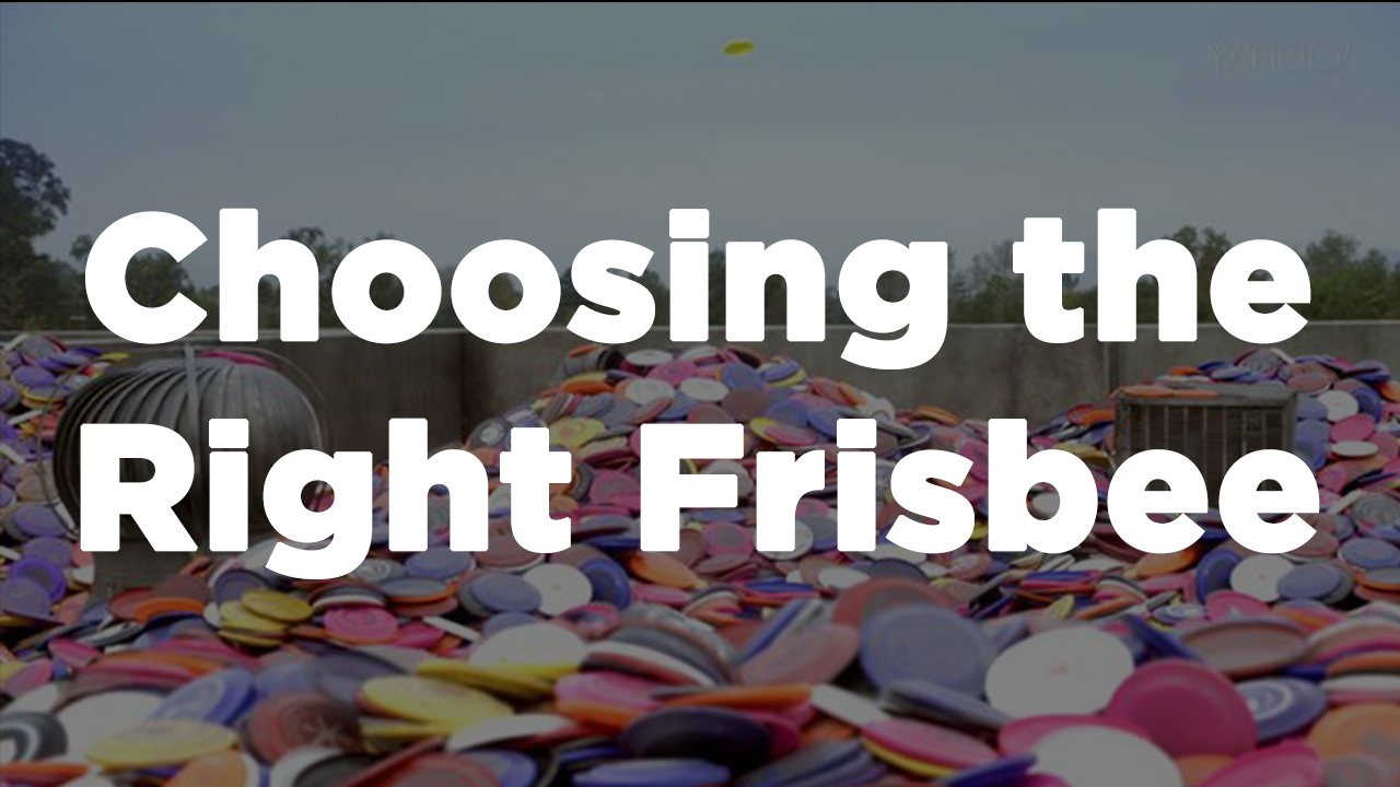Choosing the Right Frisbee or Disc
