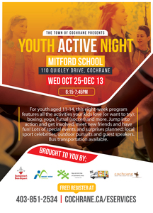 Cochrane's Youth Active Night