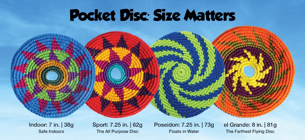 Pocket Disc Giveaway