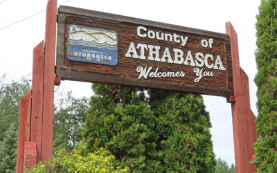 Frisbee and Unplugging in Athabasca County