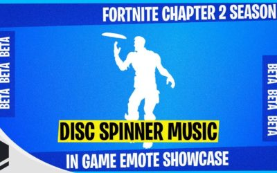 Fortnite Chapter 2 Adds Disc Spinner Emote
