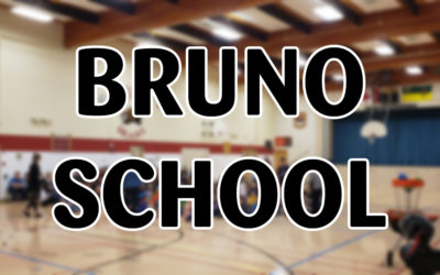 Frisbee and Unplugging at Bruno School