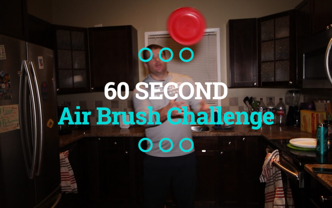 The 60 Second Air Brush Challenge