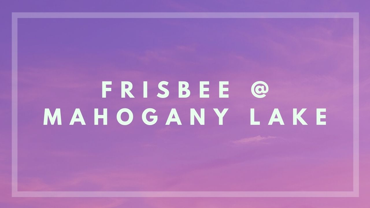 MahoganyFrisbee
